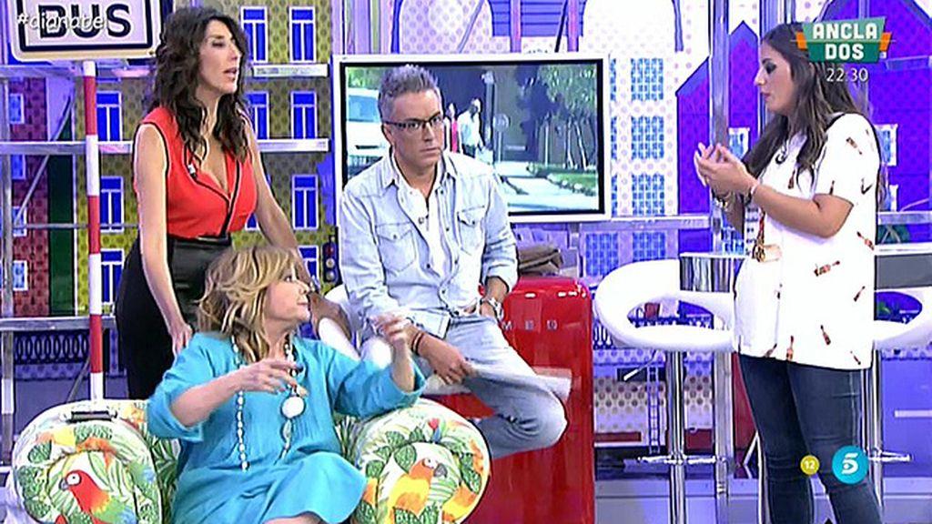 """Mila Ximénez: """"Cuando Anabel Pantoja habla de su tía, se convierte en su tía"""""""