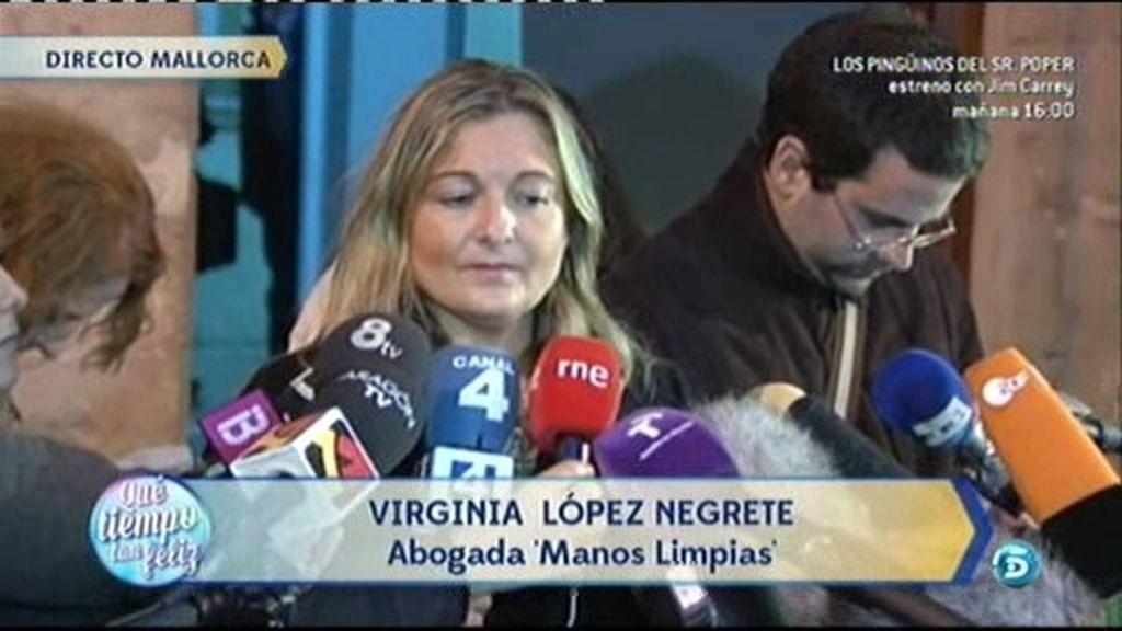 """Virginia L. Negrete: """"La Infanta no ha querido contestar a las preguntas"""""""