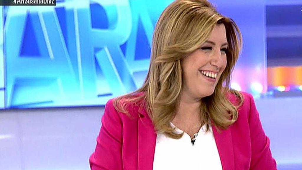 """Susana Díaz: """"No me voy a posicionar en las primarias"""""""