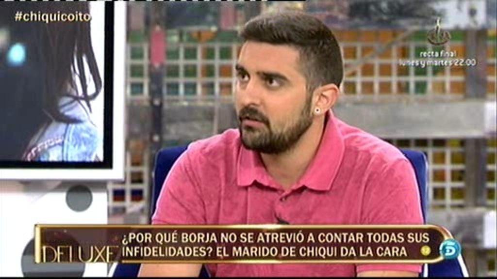 """Borja: """"Aran Aznar y Antonio Tejado se acostaron juntos"""""""
