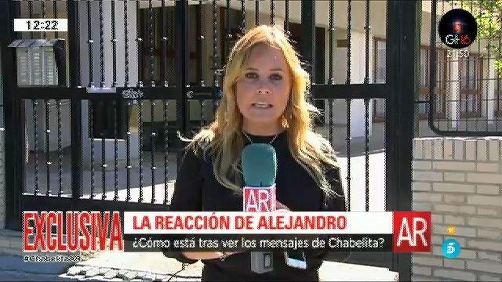 """Melissa Pérez: """"Alejandro está destrozado y decepcionado"""""""