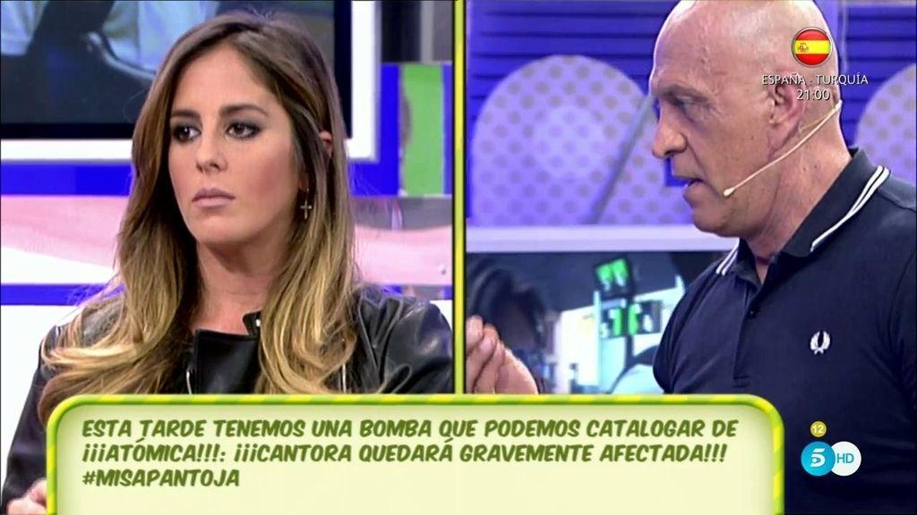 """Anabel Pantoja, a Kiko Matamoros: """"No voy a consentir que llames patética a mi familia"""""""
