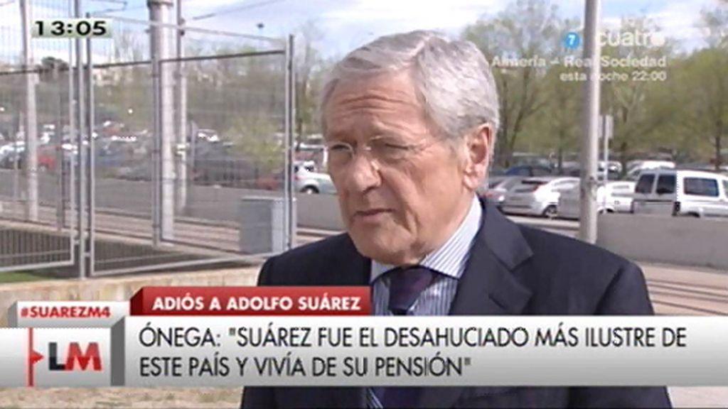 """Fernando Ónega: """"Adolfo Suárez ha sido uno de los desahuciados más ilustres"""""""