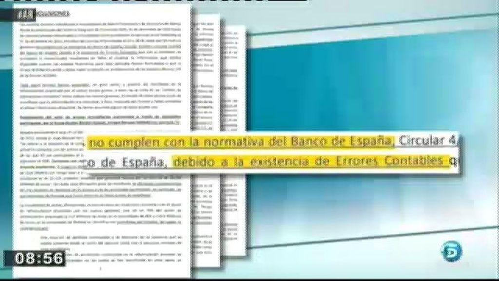 Bankia ocultó un agujero de 4.000 millones de euros a los inversores