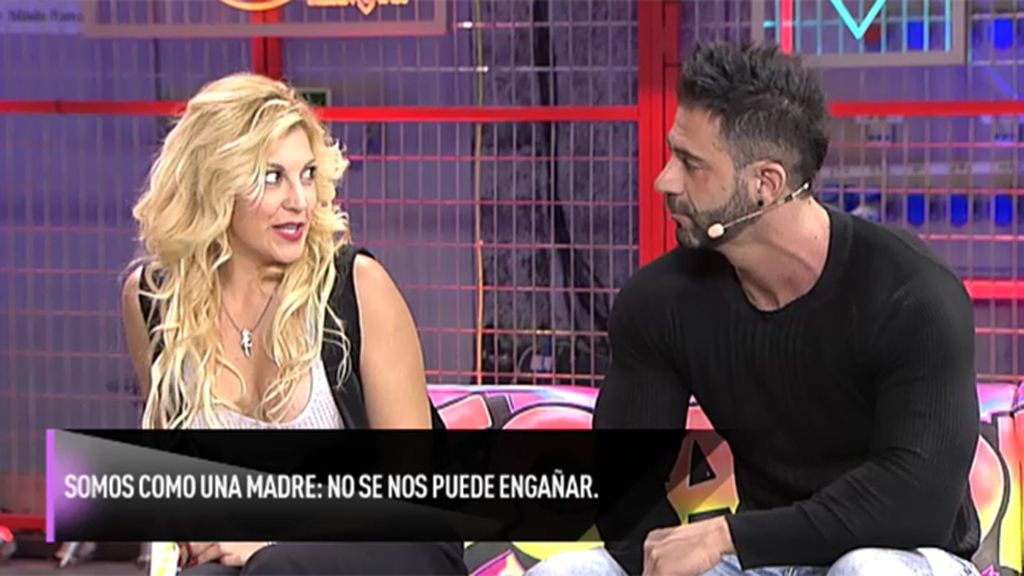 ¡Johana y Ricardo pillados!