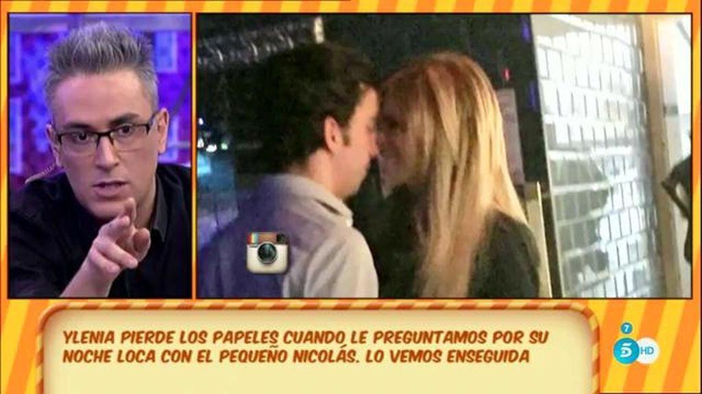 Francisco Nicolás niega haber tenido un acercamiento con Ylenia