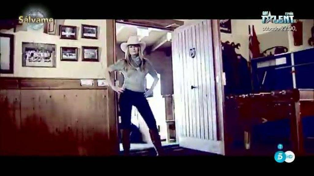 """Olvido Hormigos, la nueva """"cowboy"""" de 'Lydia quién baila'"""