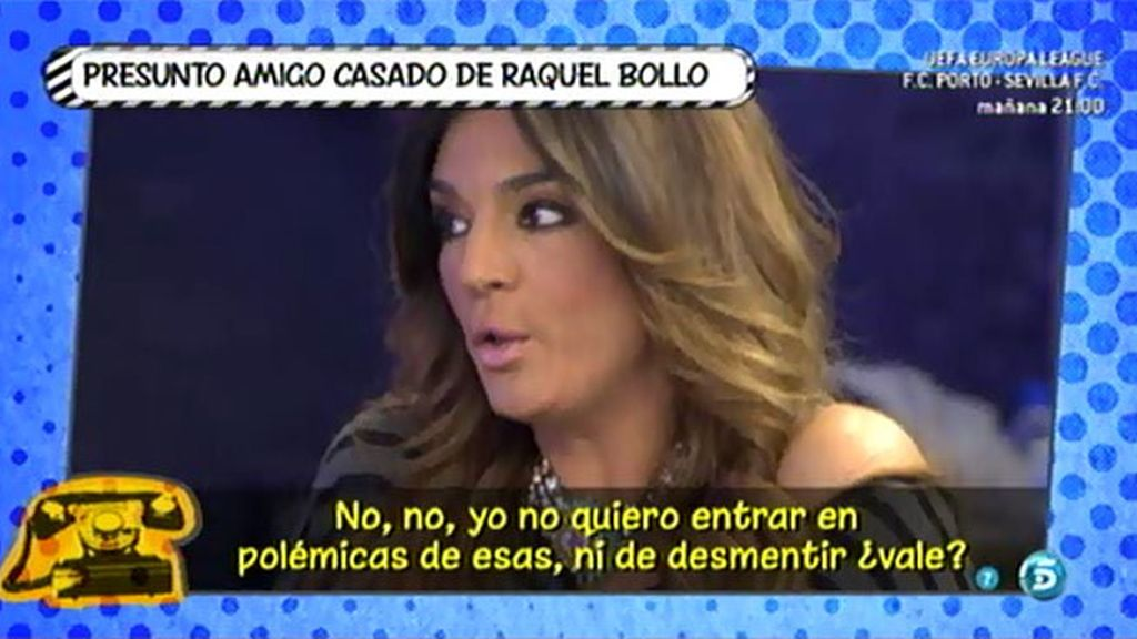 """El supuesto """"amigo"""" casado de Raquel Bollo niega que tenga relación con la colaboradora"""