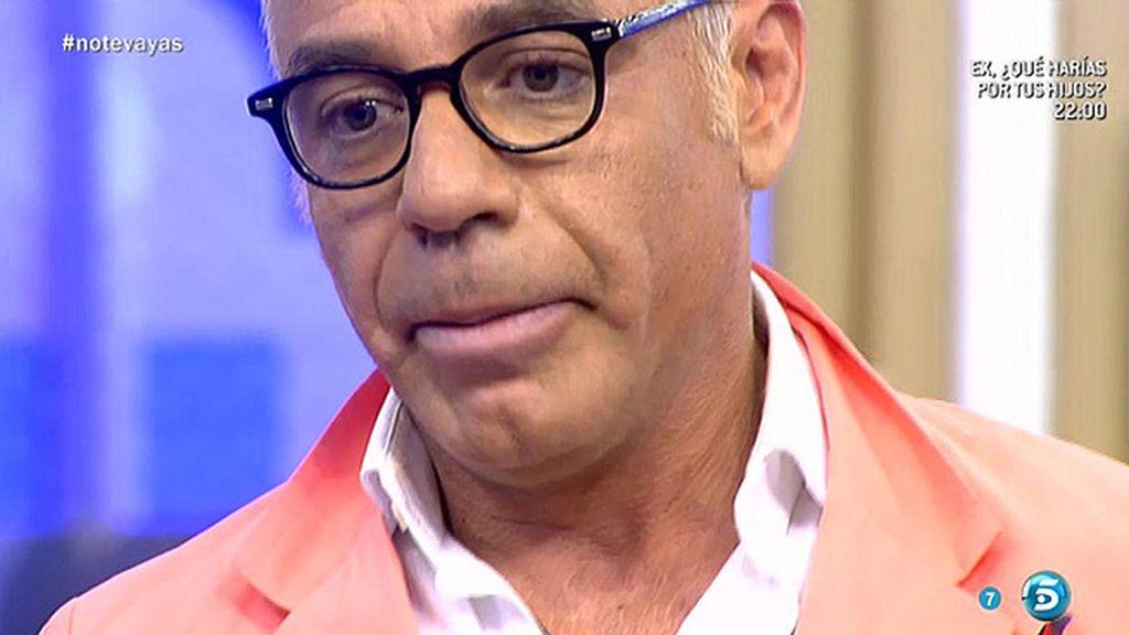 La emotiva despedida de Joaquín Torres