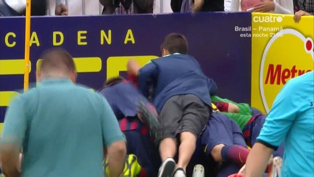 Pablo Moreno da la victoria al Barça en los penaltis tras el fallo de Theo Zidane