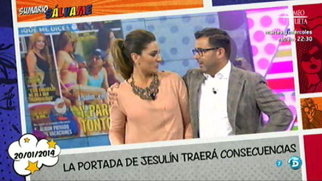 """Jorge Javier, a Raquel Bollo: """"¿Lloras el viernes con Paz Padilla y conmigo no?"""""""