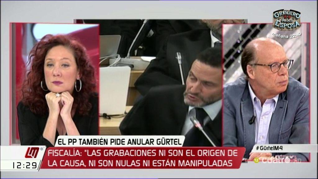 """Cristina Fallarás: """"El mismo partido que está siendo juzgado va a gobernar España y eso no lo podemos permitir"""""""