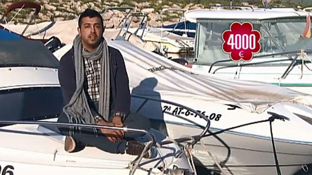 Vendo: barca por 4.000 euros