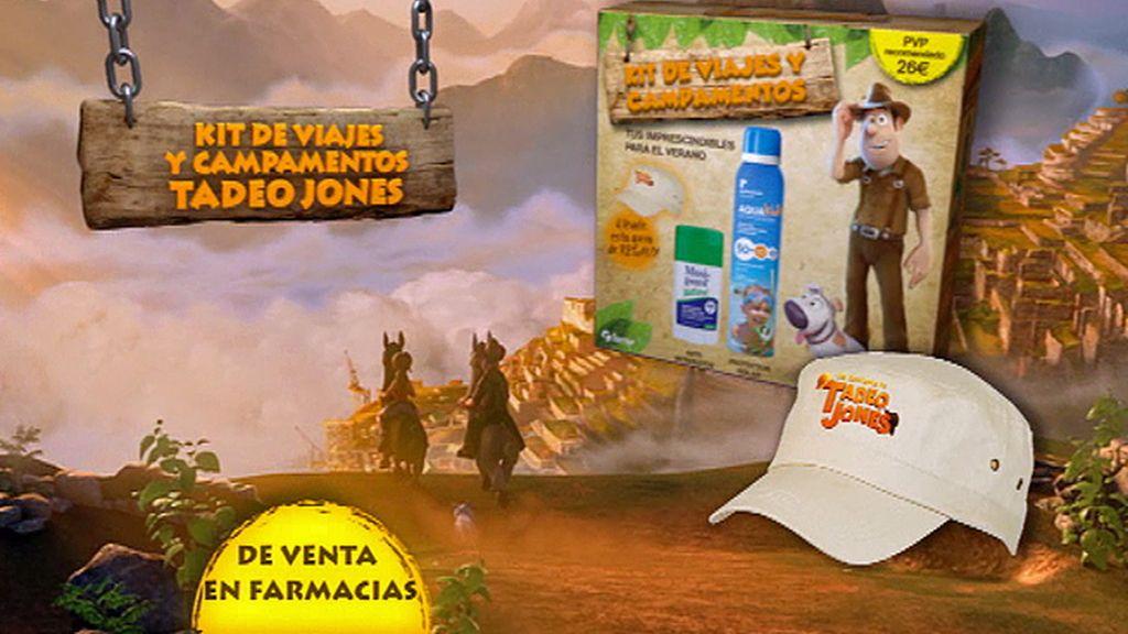 Ya a la venta el Kit de viajes y campamentos de Tadeo Jones