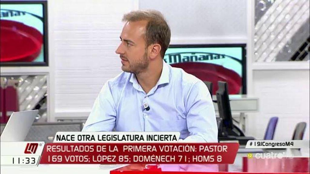"""Javier Dorado: """"Que el PP sea primera fuerza y con tanta diferencia es lo que va a marcar la legislatura"""""""