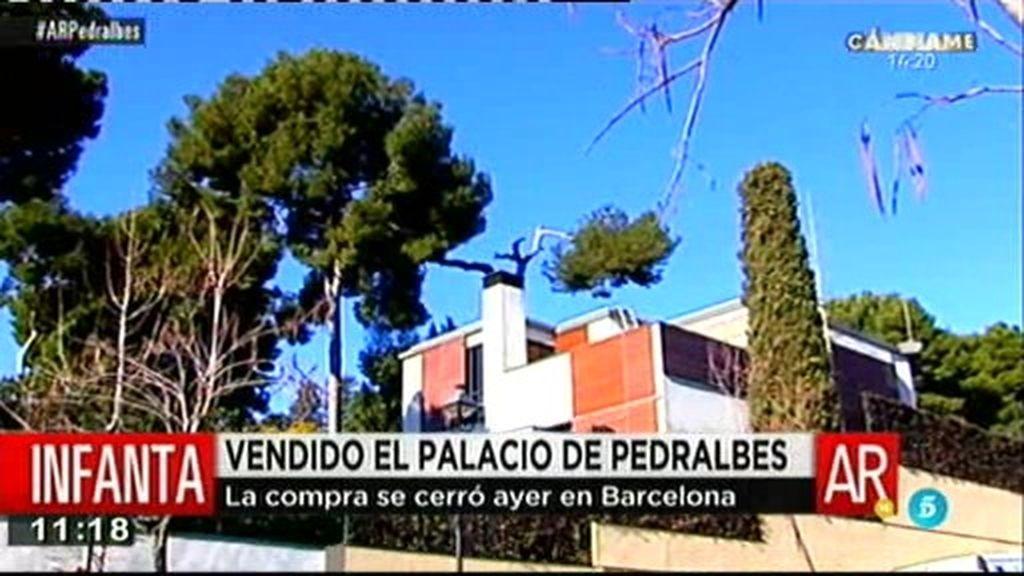 La Infanta y Urdangarín cierran la venta del palacete de Pedralbes