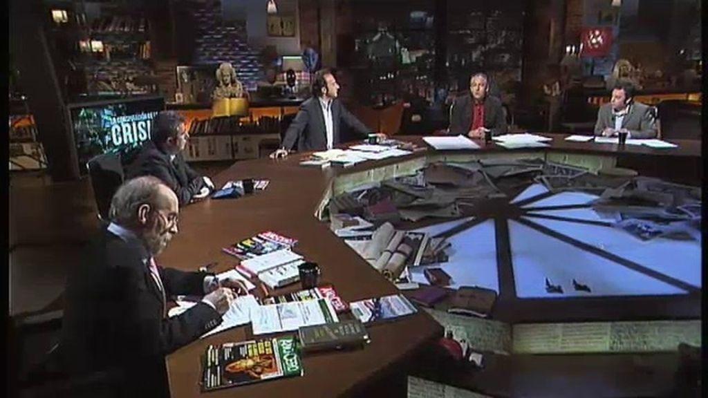 La conspiraci n de la crisis a debate for Jaime garrido cuarto milenio