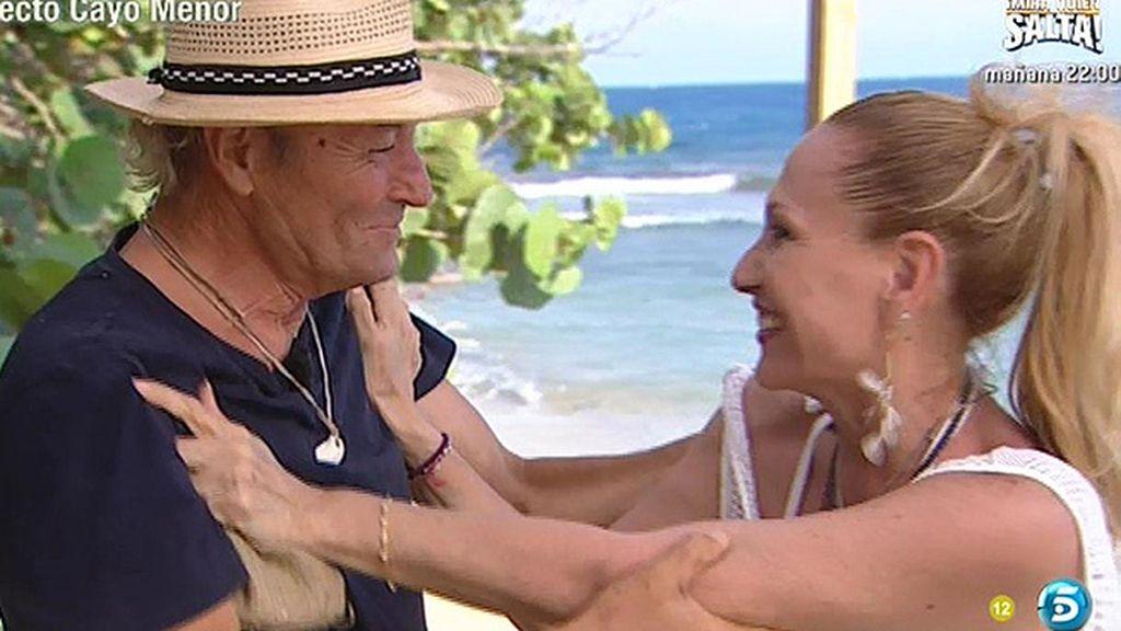Rosa espera que Amador dedique el dinero que gane en 'SV' a pagar sus deudas