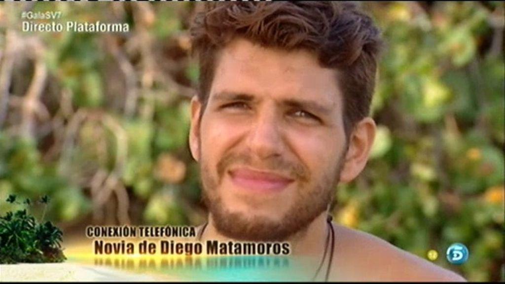 """Diego Matamoros, a su novia: """"Te quiero y te echo muchísimo de menos"""""""