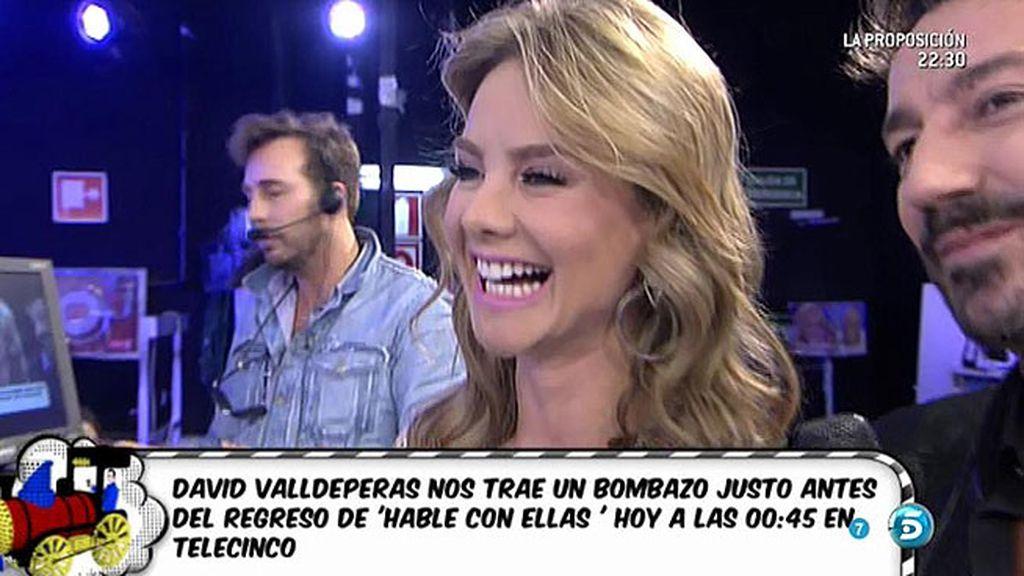 ¡David Valldeperas presenta a Ximena Córdoba en 'Sálvame!