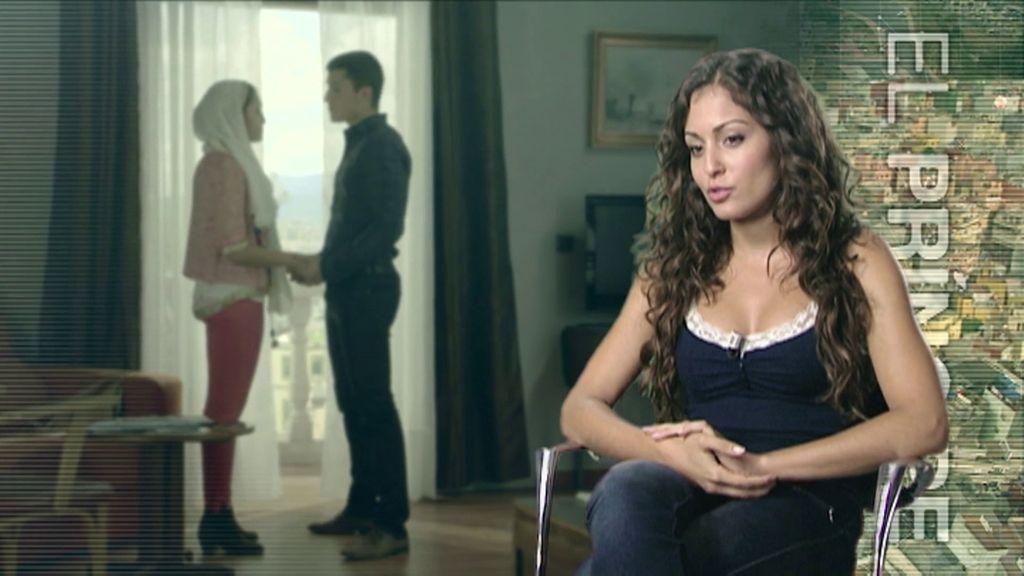 """Hiba Abouk: """"Quién sabe si el amor de Fátima y Morey tendrá éxito"""""""