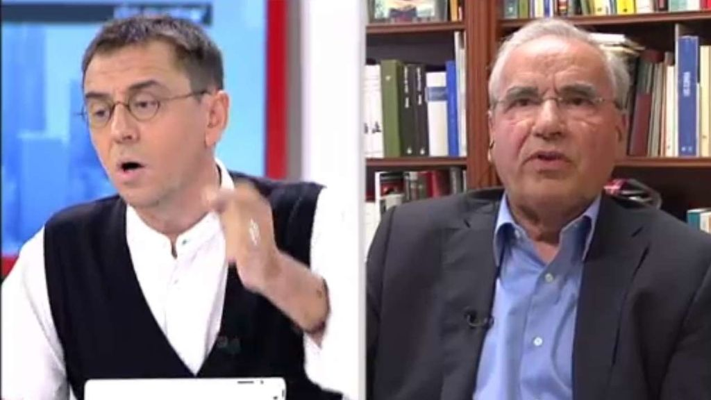 Monedero y Guerra se enzarzan en una discusión sobre la reforma electoral