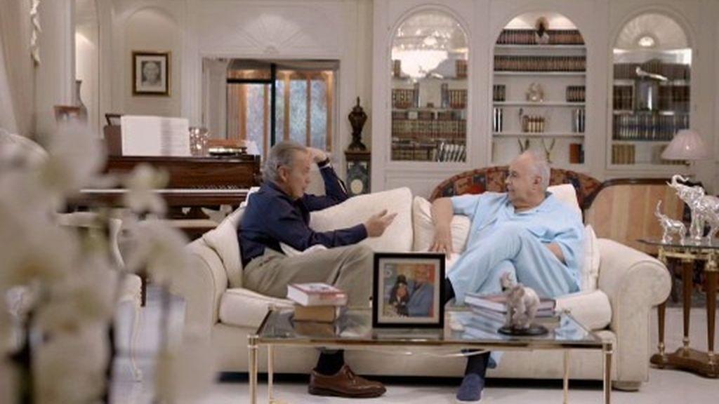 """José Luis Moreno: """"Yo he tenido tres familias y tengo tres hijos"""""""