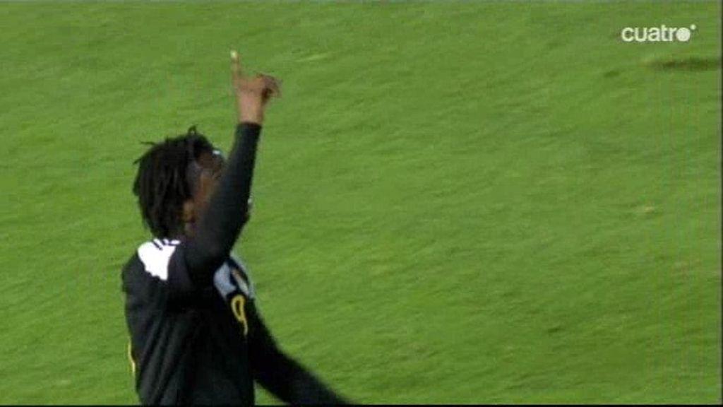 Kabasele aprovecha el error de España para adelantar a Bélgica (0-1)
