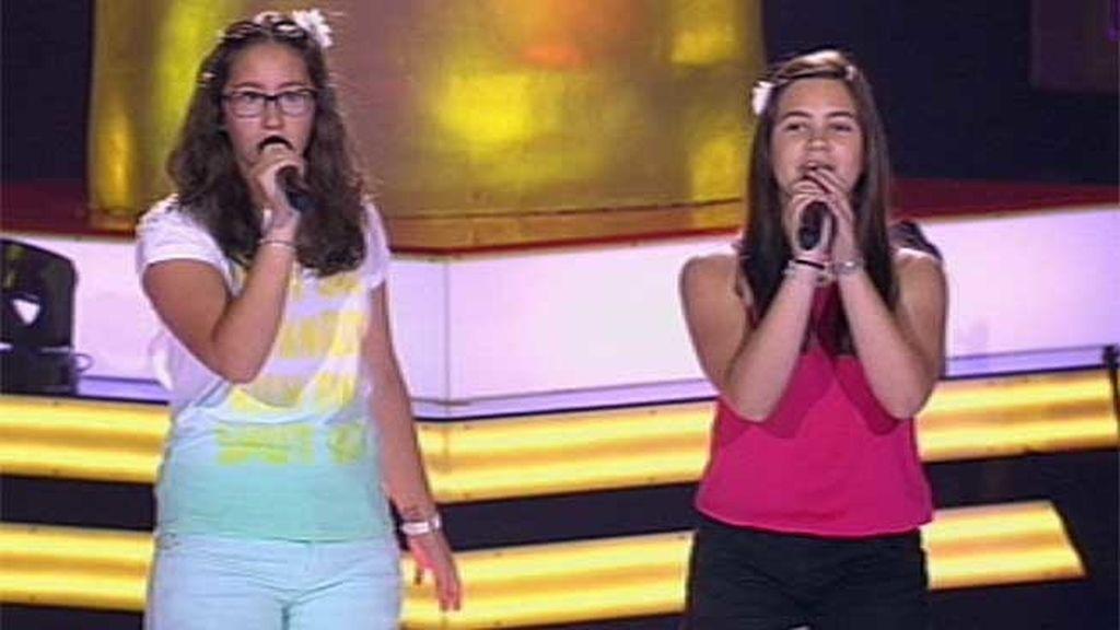 La actuación de Iraida y Paola: 'Volver'