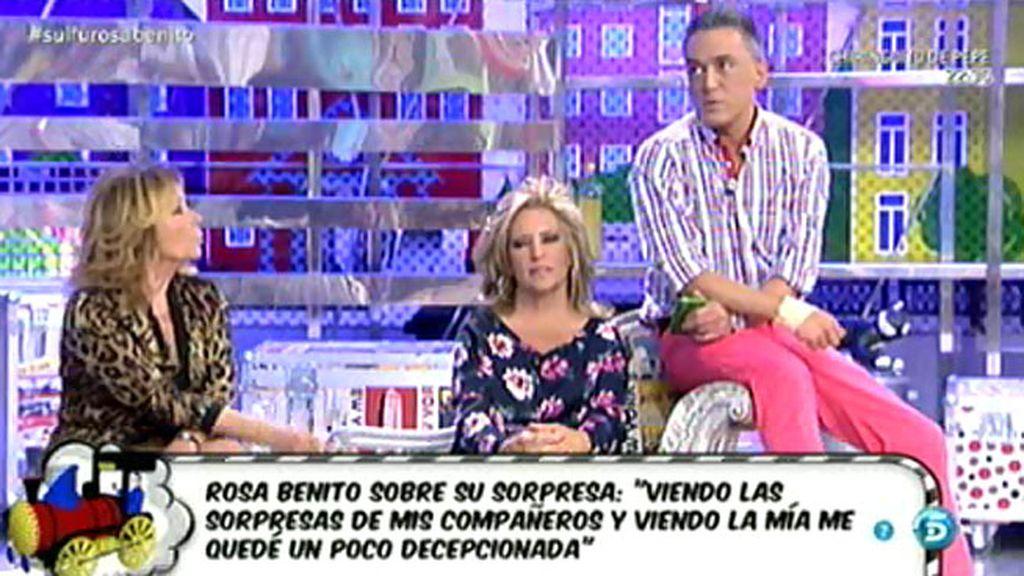 Kiko Hernández revela que Rosa Benito tuvo envidia de la sorpresa que se le dio a Belén