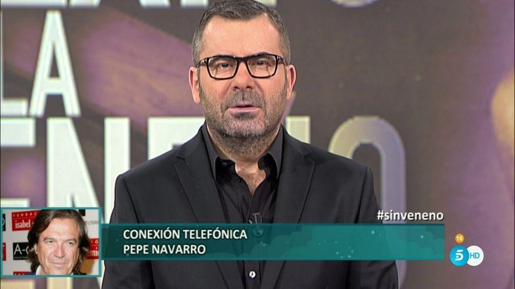 """Pepe Navarro: """"Ese final es muy injusto para una mujer buena como era 'La Veneno"""""""
