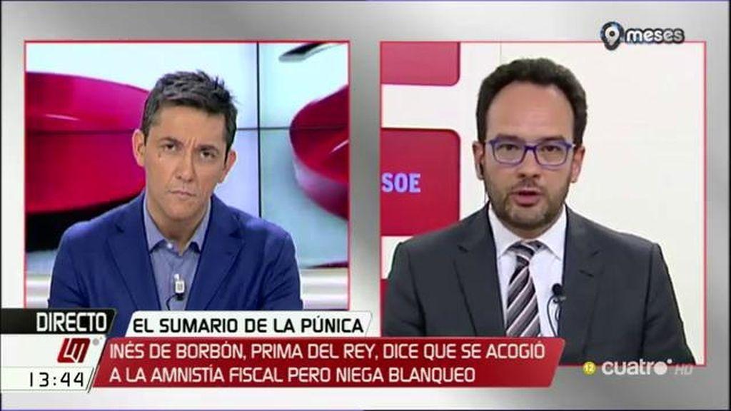 La entrevista de A. Hernando, a la carta