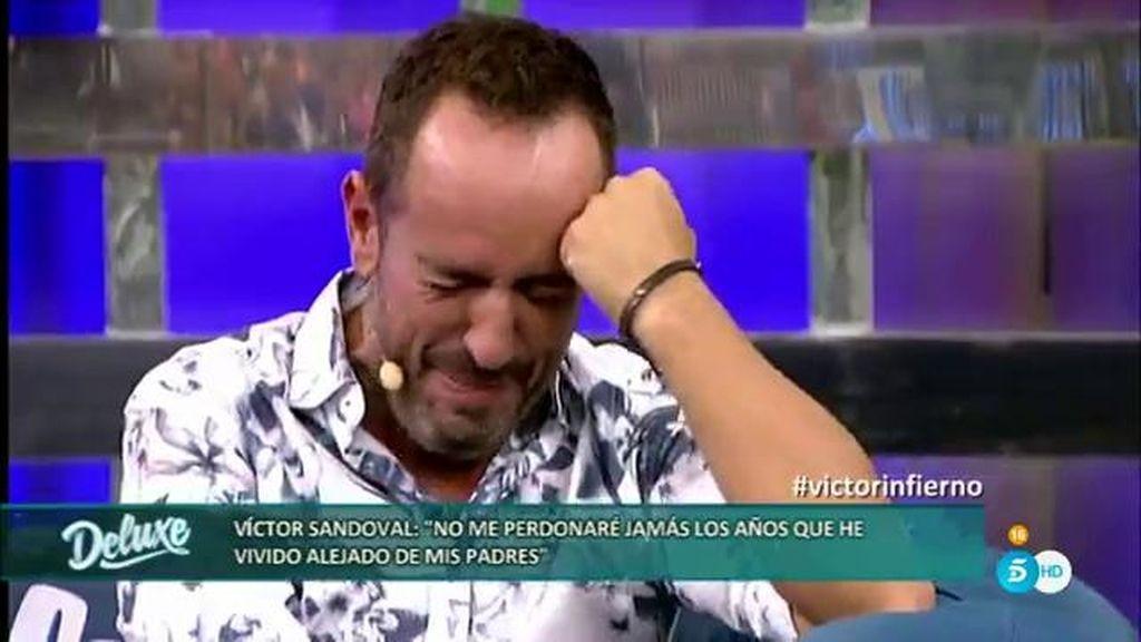 Jorge Javier retransmite un mensaje de los padres de Víctor Sandoval