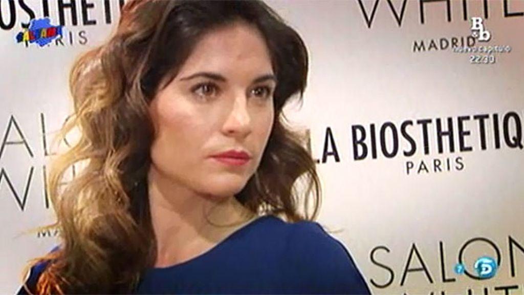 """Lourdes Montes: """"Estoy en un momento muy feliz, con Fran y con lo que rodea mi vida"""""""