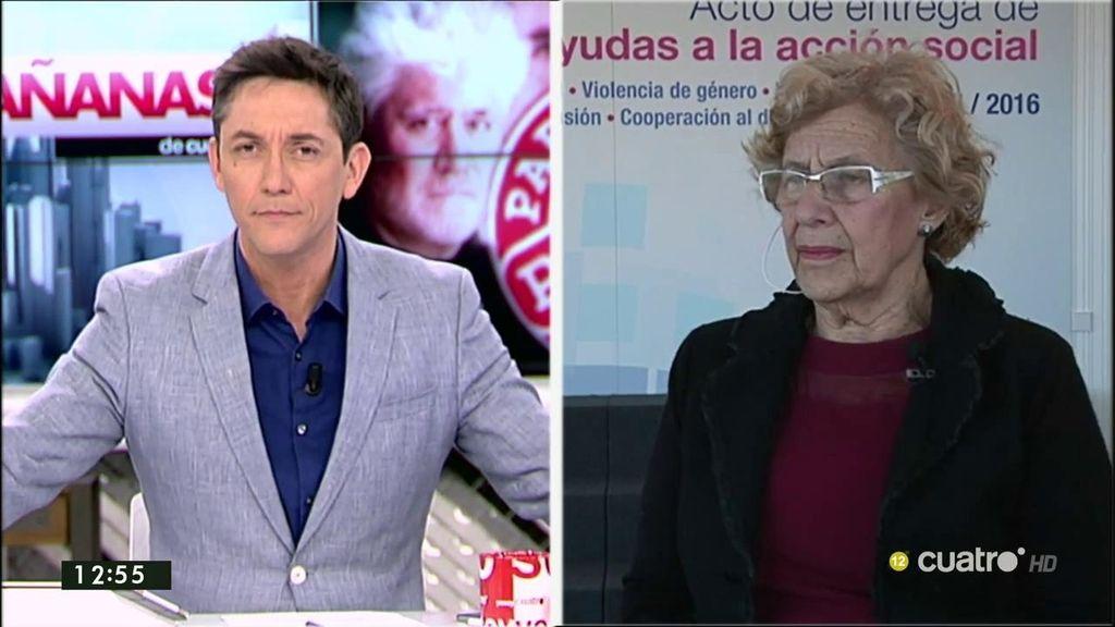 """Carmena, sobre las viviendas sociales vendidas: """"El objetivo del ayuntamiento es recuperar ese patrimonio"""""""