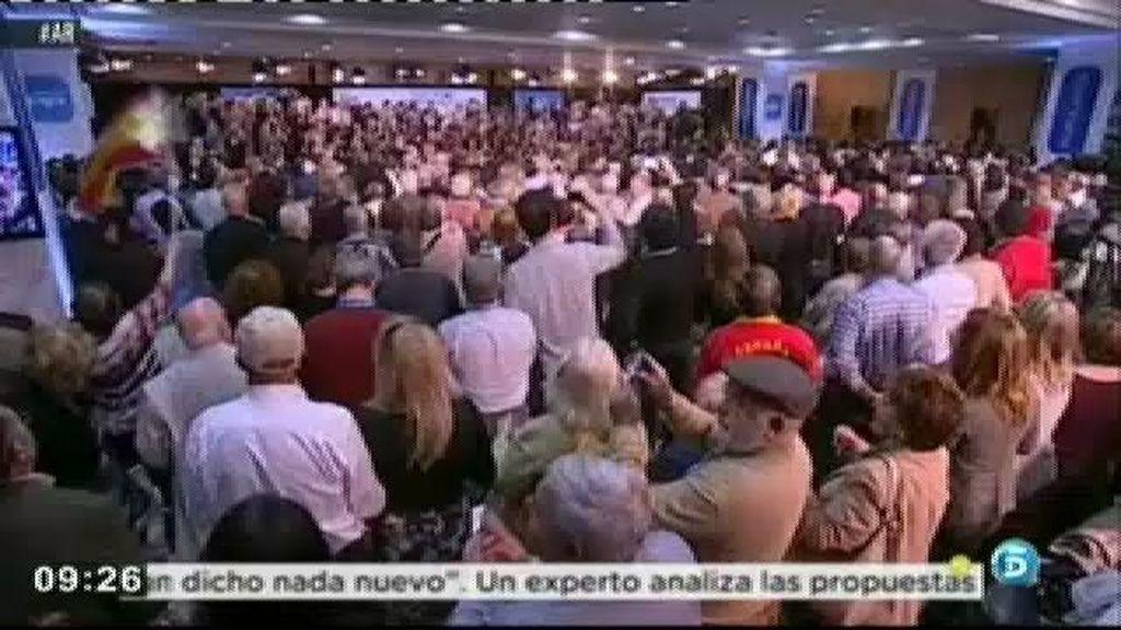 "Mariano Rajoy visita Cataluña: ""Hemos venido arreglarlo"""