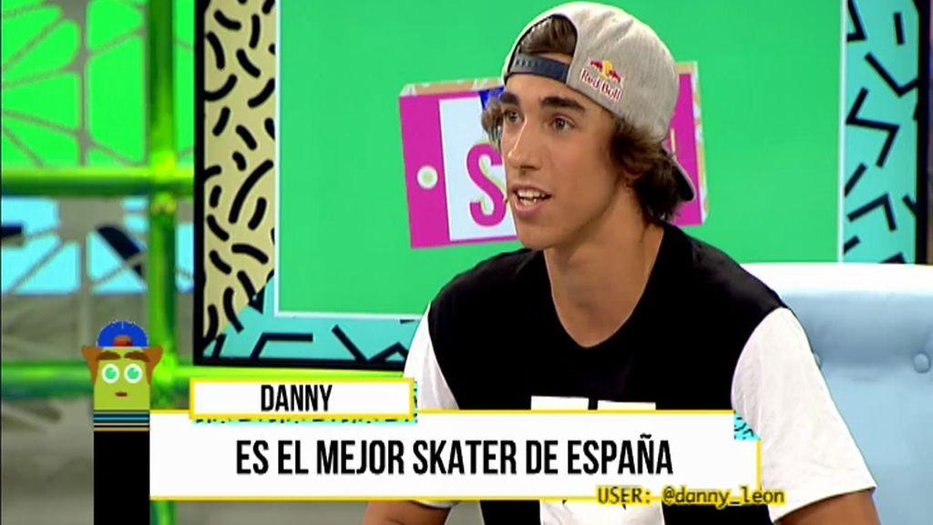 @danny_leon, el mejor skater de España