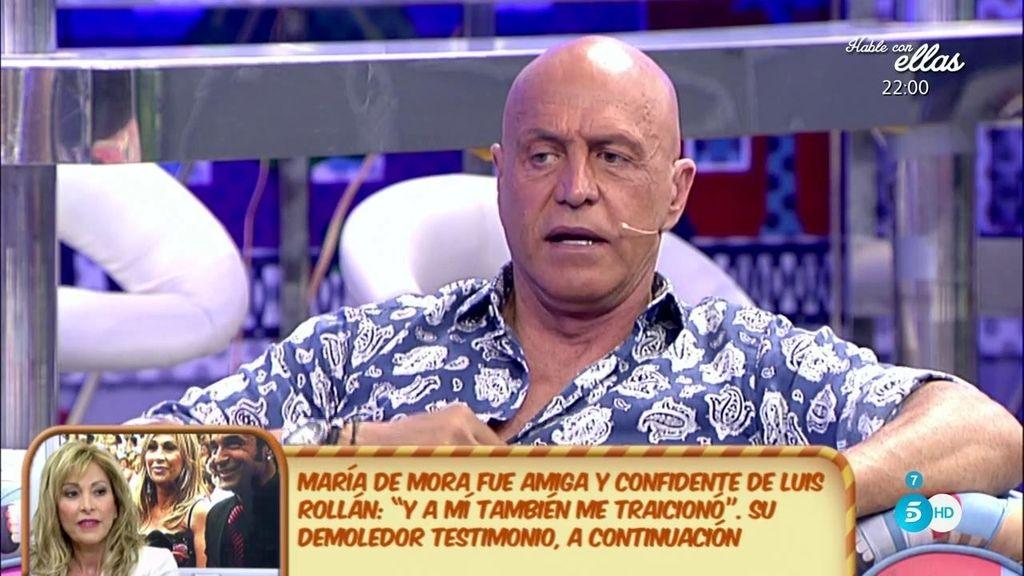 Luis Rollán ha traicionado a Kiko Rivera, según Kiko Matamoros