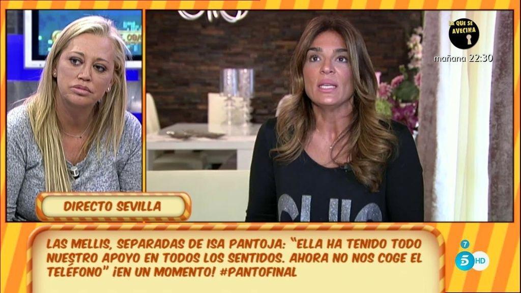 Belén Esteban pide perdón a Raquel Bollo por su amistad con Aguasantas en 'GH VIP'