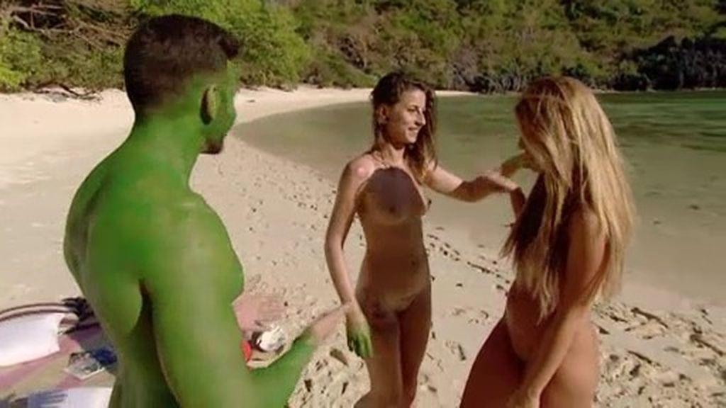 Sandra llega al Paraíso como un torbellino y 'arrasa' con el Adán
