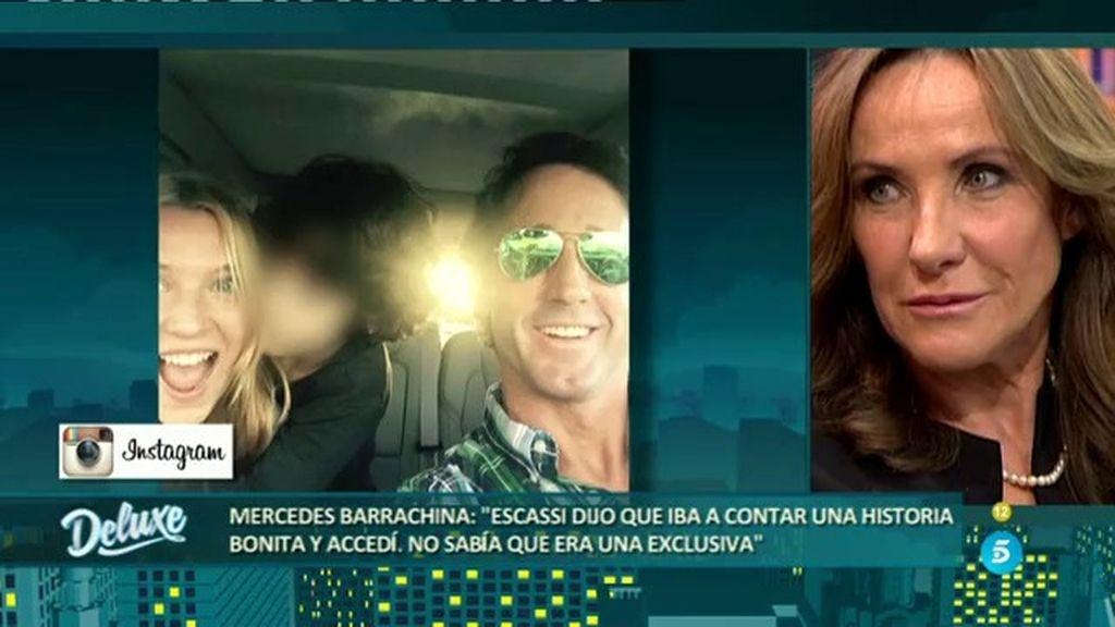 """Mercedes: """"Álvaro dijo que iban a contar una historia bonita, no que fuera una exclusiva"""""""