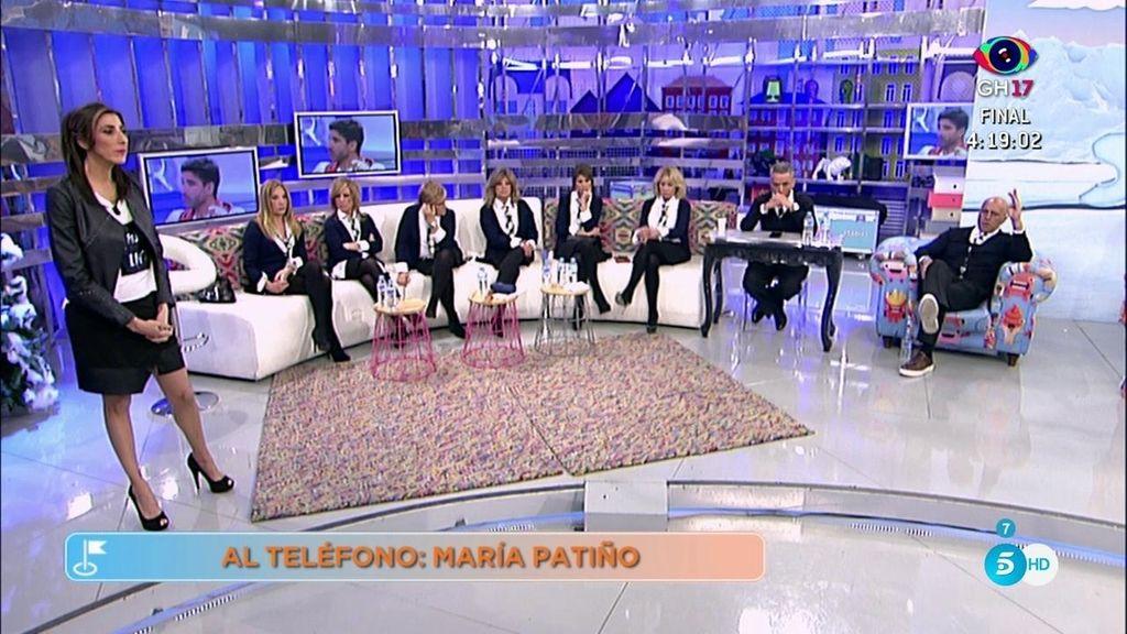 """María Patiño: """"Hay una persona vinculada a Belén que podría ayudarla en el juicio"""""""