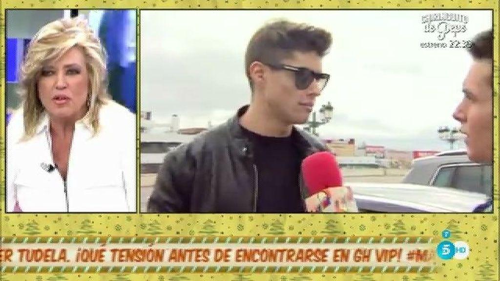 El padre de Javier Tudela no quiere que su hijo entre en 'GH VIP', según L. Lozano
