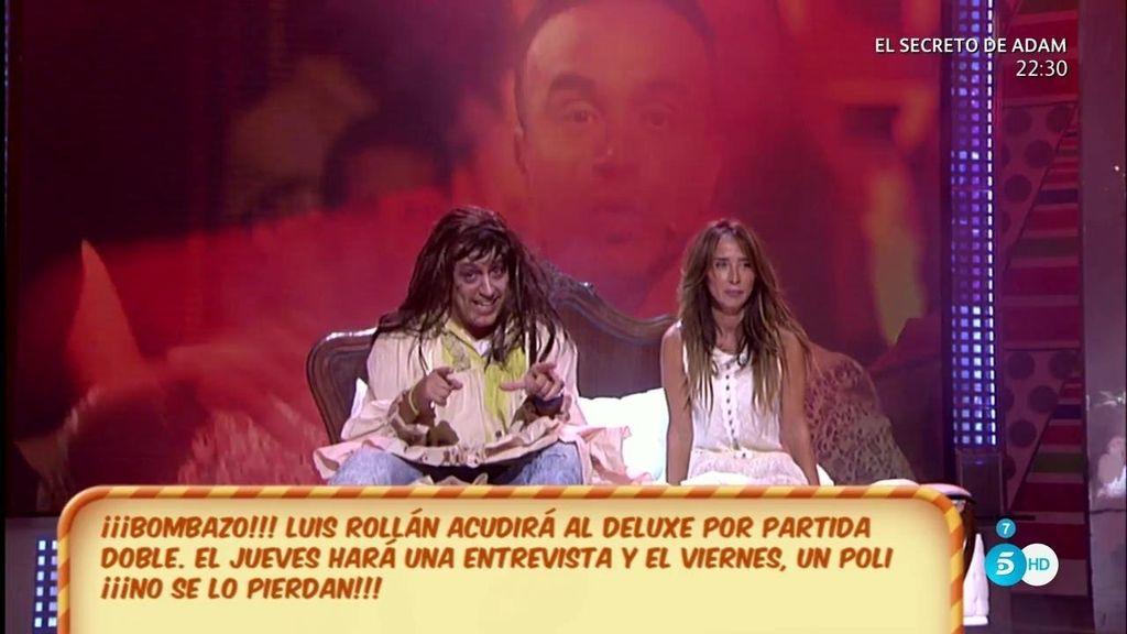 Luis Rollán se sienta en el 'Deluxe' y se somete al PoliDeluxe