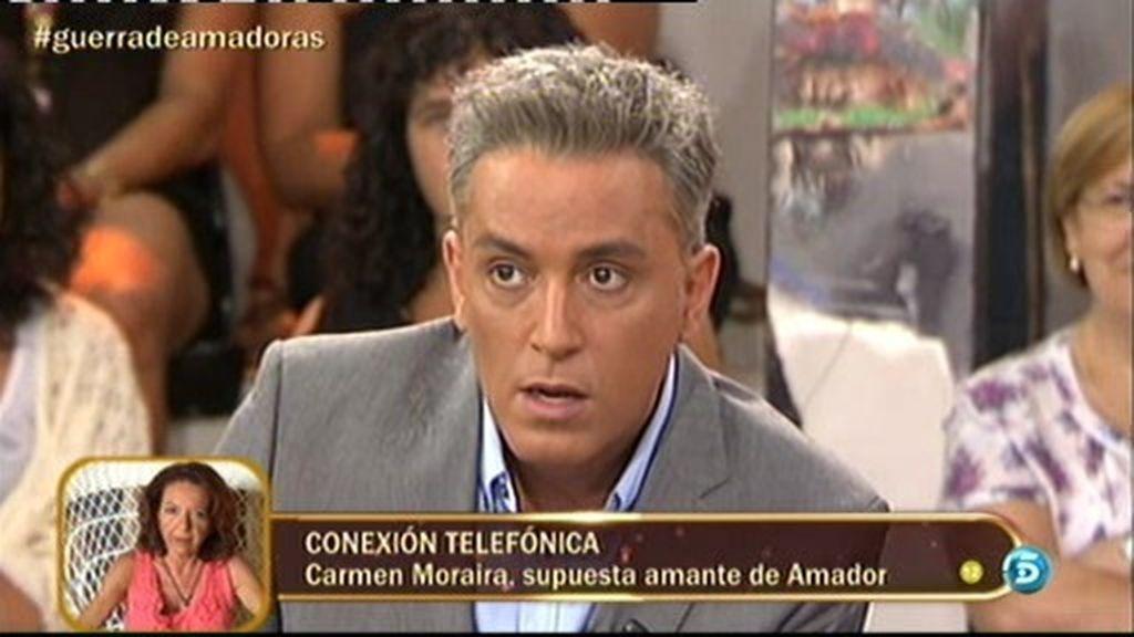 """Carmen Moraira: """"Hablaré cuando me saquen del círculo de las del balcón"""""""