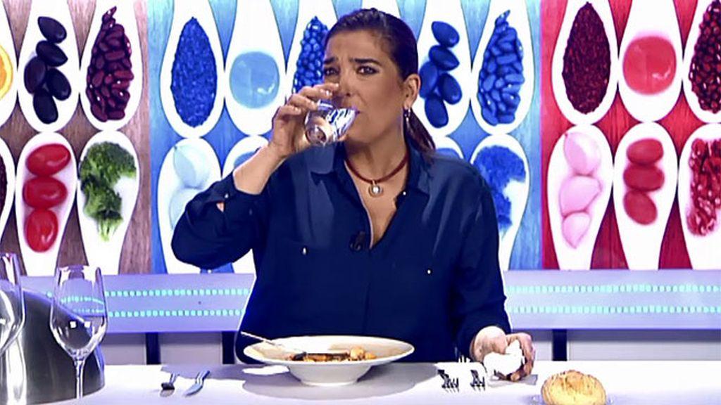 "Mª Jiménez Latorre, sobre la sopa de Dori: ""Por fin tengo un plato de madre de verdad"""