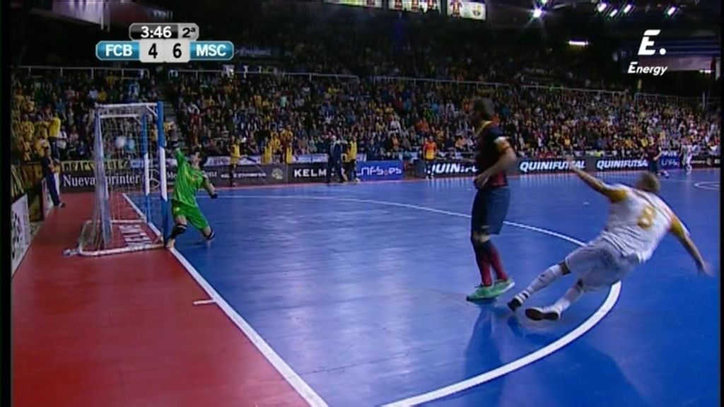 Gol de Dani Salgado (Barça 4-6 Marfil)