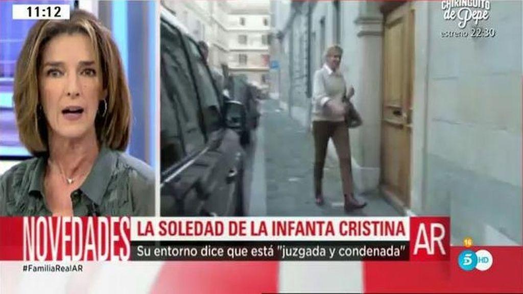 """Paloma García Pelayo: """"La infanta Cristina siente que su familia la ha abandonado"""""""
