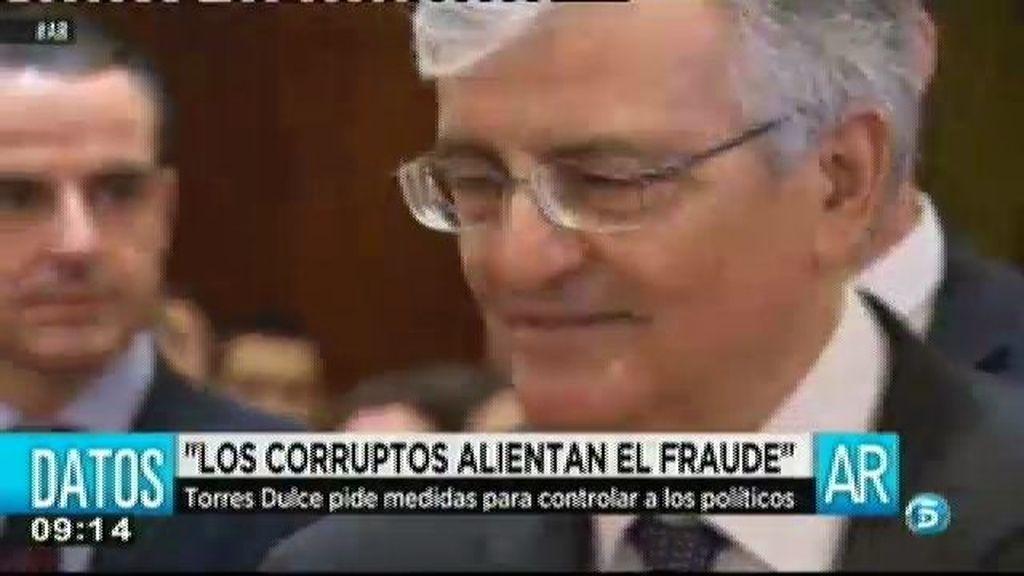 Torres Dulce, fiscal general del estado, se queja de la falta de medios para combatir la corrupción