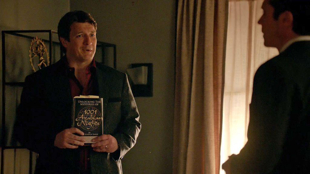 """Castle y su macabro sentido del humor: """"Lanzaos de cabeza a resolver el caso"""""""